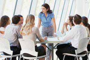 Management training courses - leading by example