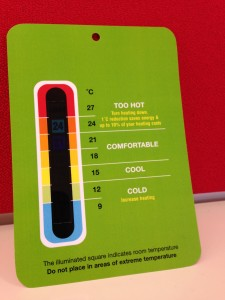 All Impellus employees have a thermometer on their desk. But does this solve the Manager's problem?