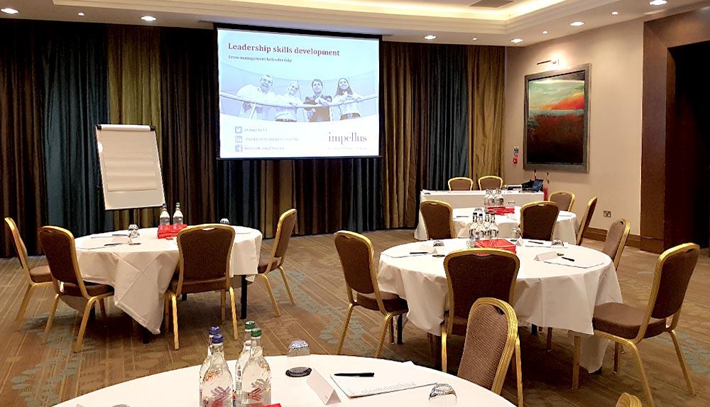 Impellus Edinburgh Management Training Room