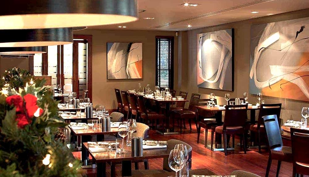 Brasserie restaurant for management training delegates in Edinburgh