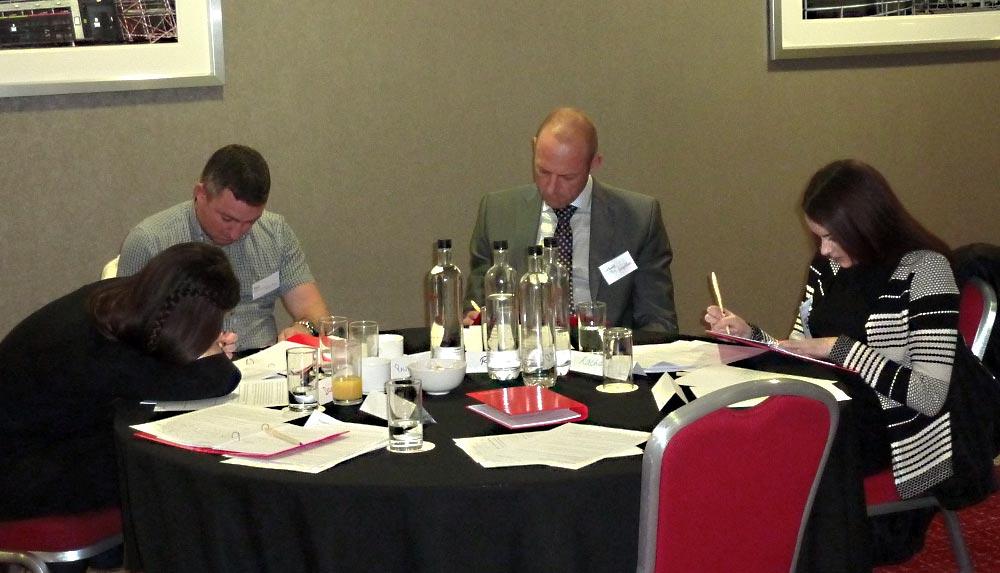 Impellus delegates at Milton Keynes training venue