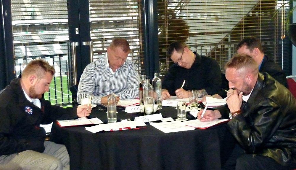 Impellus management training delegates at Milton Keynes venue