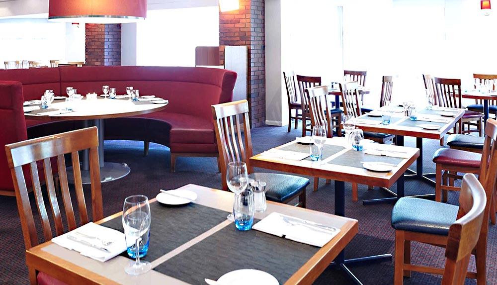 Restaurant at Impellus Newcastle management training facility